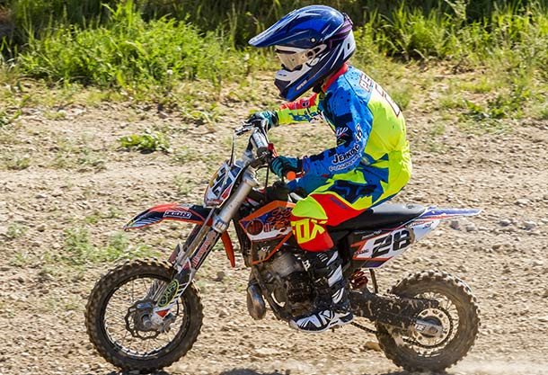 Dirt Bike for 10 11 12 year old child